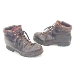 🌎 Vasque Leather Hiking Boots Women's Size 8.5 🌐